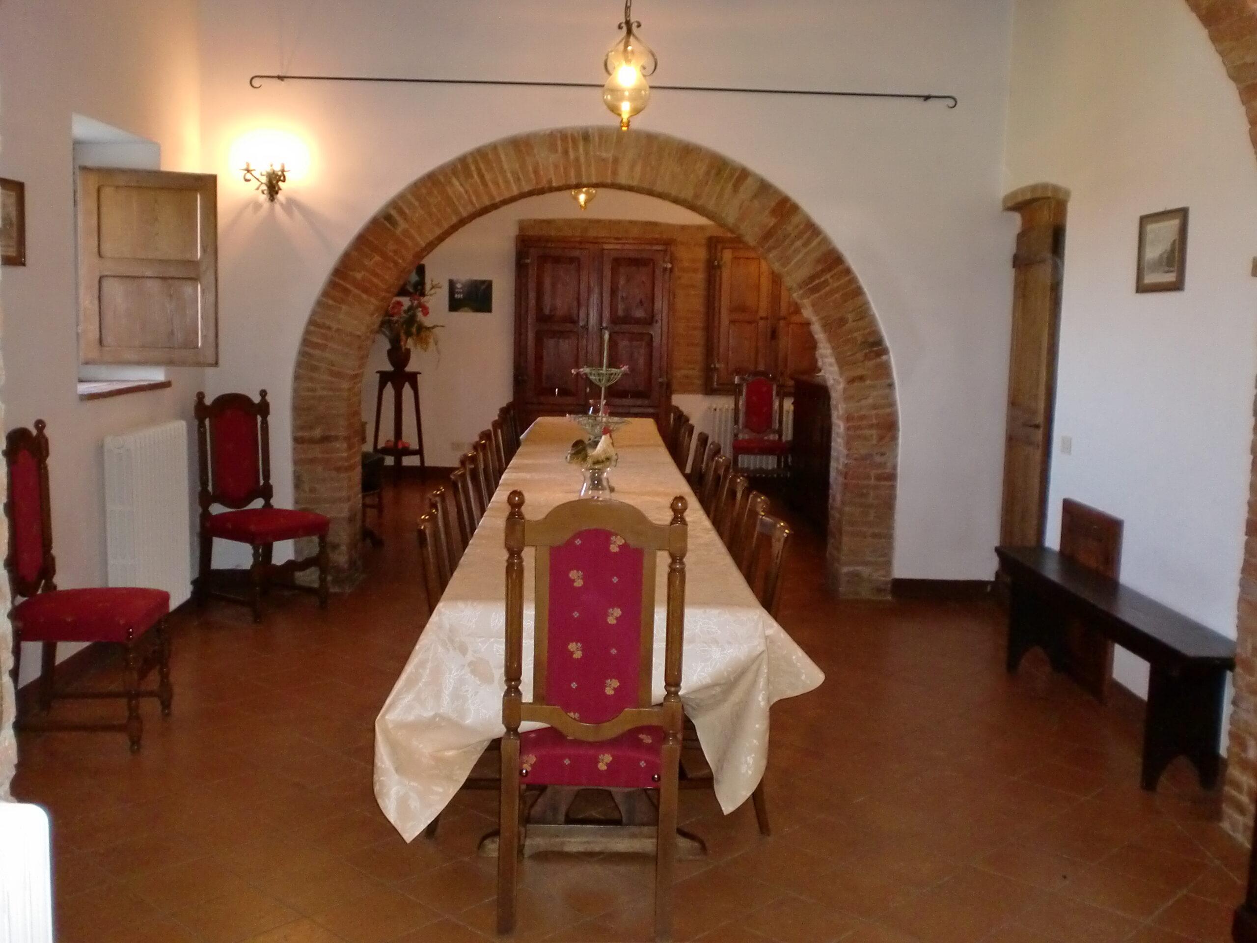 Salone e cucina per gruppi